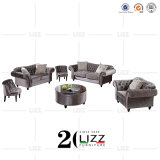 Leisure Home Furniture Living Room Chesterfield Fabric Sofa Set