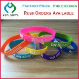 Personalized Sport Company Logo Giveaway Silicone Bracelets, Fashion Jewelry