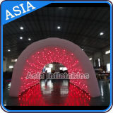 Giant Inflatable Tunnel for Wedding Party Use, Inflatable Event Tunnel with Lights