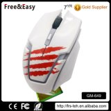 Cool Design Scroll Wheel Optical Wired Gaming Mouse