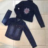 Two Kinds of Fashion Short Women Denim Jeans Coat Outer Wear Outdoor Jacket