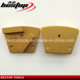 Magnetic Back Diamond Concrete Grinding Tools with M6 Screw Holes