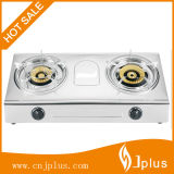 High Quality Stainless Steel Rotary Brass Burner Cap Gas Cooker Jp-Gc226