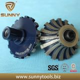 Diamond Router Bit for Marble and Granite Edge Profiling (SY-DRB-6332)