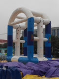 New Design High Quality Inflatable Bungee Jumping Castle