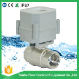 Dn20 230V Brass Nickel Plated Electric Water Shut off Valve