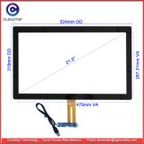 "21.5"" Industrial Capacitive Touch Sensor Bonded Cover Lens"