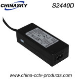 24V5a AC to DC Adapter with EU/ Us /UK/ South African Plug (S2450D)
