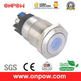 Onpow 19mm Push Button Switch (LAS1GQ-11D/L/G/12V/S, CE, CCC, RoHS)