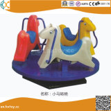 Kids Play 3-Seats Outdoor Rocking Horse for Children