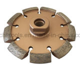 Diamond Saw Blade Brazed Crack Chaser for Concrete Bricks Groove Cutting