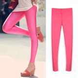 Elastic Polyester Sexy Leggings for Lady