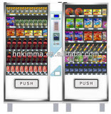 Beverage Vending Machine with Refrigerator System