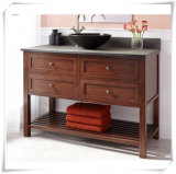 French Bathroom Vanity Cabinet with Bamboo Material