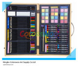 80 PCS Drawing Art Set in Wooden Box for Kids and Students