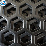 Hexagonal Shape Stainless Steel 316L Perforated Plate for Antiskid Floor
