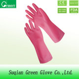 Pink Cheap Houshold Cleaning Gloves