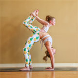 Embroidered Kids Girls Child Leggings Yoga Pants Pineapple Digital Print