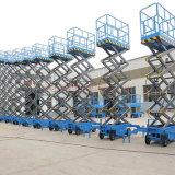 Best Price Semi Automatically Platform Mobile Hydraulic Scissor Lift