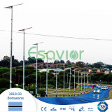 80W All in One Solar LED Street Light Solar Powered with Microwave Motion Sensor