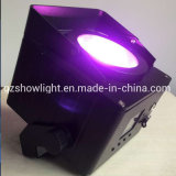 New Battery OLED RGBW Waterproof IP65 Wireless LED Flat PAR Light