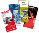 Custom Pre-Printed High Quality Bulk Menu Brochure Booklet Flyers