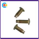 DIN/ANSI/BS/JIS Carbon-Steel/Stainless-Steel Hand Screw Word Non-Standard Rivet Pin Screw for Building/Railway/Bridge