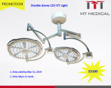 Double Head Shadowless LED Surgical Theatre Light LED Surgical Operation Ot Light
