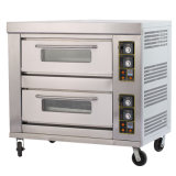 Automatic G24b 2 Layer 4 Trays Bread Gas Pizza Deck Oven/Commercial Kitchen Hotel Baking Bread Gas Oven