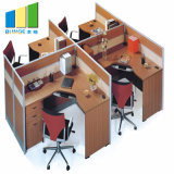 4-6 Person Linear Desk Cubicle Partitions Furniture Modular Office Workstations