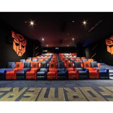 Wholesale Leather Power Cinema Sofa, Recliner Sofa in Public Cinema