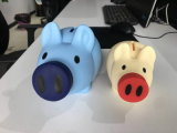 Custom Color Cheap Piggy Bank for Promotion Gifts