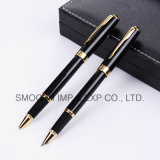 Wholesale Stationery High Quality Custom Promotional Black Metal Fountain Pen
