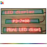 Ultra-Thin P3-7X80 Mini Single Line LED Message Display/ Screen/Panel/Board