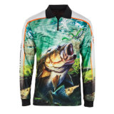 Competitive Price High Quality Sublimation Customized Fishing Shirts