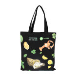 Biodegradable Custom Printed Cheap Organic Cotton Canvas Tote Shopping Bag