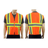 Wholesale 100% Polyester Reflective Safety Vest Road Reflective Vest