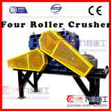 China Mine Crusher for Hard Stones Crushing by Four Roll Crusher 4pg0812pty