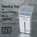 Beading Tools - No. 8 - 100 Pieces - Diamond Setting Tools