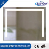 Wall Mounted with Touch Switch Battery LED Light Bathroom Mirror