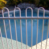 New! Aluminum and Steel Pool Fence and Security Fence Powder Coated Pool Fence