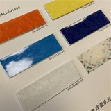 PU Leather Rexine Mosaic Print Material for Soccer Football Shoes
