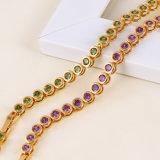 18k Gold Plated CZ Fashion Jewelry Bracelet Jewelry