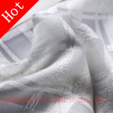 Dyed Jacquard Chemical Polyester Rayon Fiber for Woman Dress Garment.