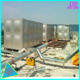 Gold Supplier Stainless Steel Rectangular GRP Panel Water Tank