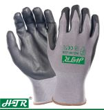 Oil-Proof Nitrile Coated Anti-Slip Abrasion Resistant Work Gloves