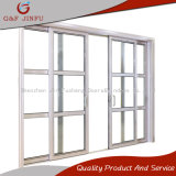 Competitive Price Double Track Glass Sliding Door with Aluminium Profile
