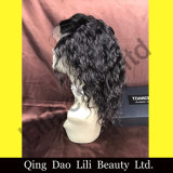 "14"" - 22"" Black Color Virgin Remy Human Hair Natual Wave Full Lace Wig Manufacturer"