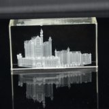 Custom Crystal Cube 3D Laser Engraving Logo (KS11028)