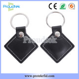 RFID High Quality Leather Key Fob for Hotel Access Control